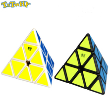 3*3*3 Pyramid Speed Magic Cube Professional Puzzles Colorful Educational Toys For Children