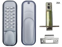 Intelligant Hot Mechanical Lockey Keyless Programmablel Digital Doors Lock Coded Lock With Handle New