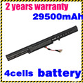 A41-x550e jigu new bateria do portátil para asus x450 x450e x450j x450jf x751l a450j a450jf a450e f450e 4 células