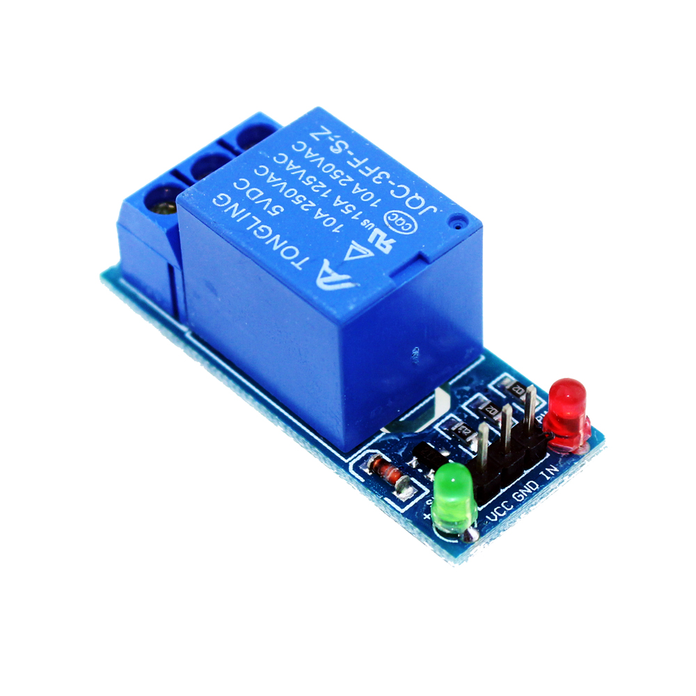 Business & Industrie 1-Channel Relay Module 5v Low Level Trigger Relay Expansion Board AB