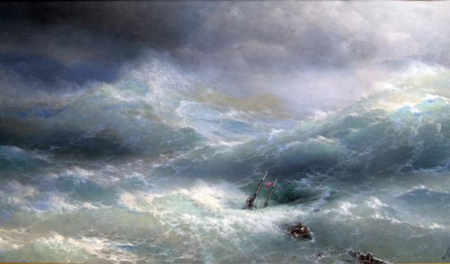 Aliexpress.com : Buy TOP ART # Russian artist Ivan Aivazovsky ...