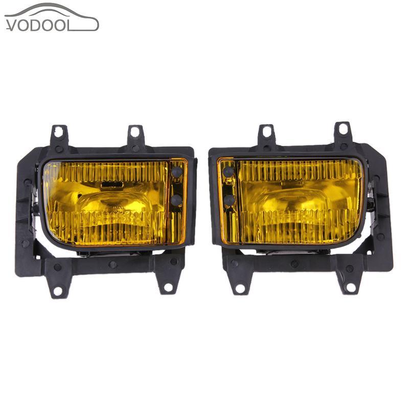 1 Paire De Voiture Pare-chocs Avant Jaune LED Brouillard Lampe Ensemble Automobile Light-emitting Diode Phare de Phare pour BMW E30 3-Series 82-94