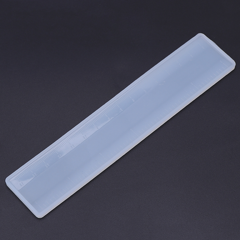 Silicone Mold Ruler Mirror DIY Crafts Jewelry Handmade Stationery Epoxy Resin