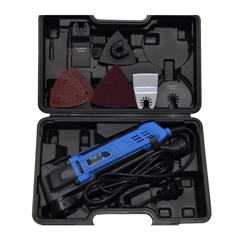 Machine de découpage multifonction outils de travail du bois lame électrique Machine à rainurer le bois Machine à découper A450W16-B