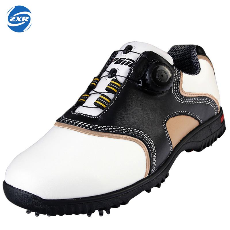 PGM Authentic Golf Shoes for men and women Sports Sneakers Game Design Antiskid Shoes Breathable Soft 2017 durable golf children shoes sneakers breathable anki skid soft shoes golf kids shoes outdoor sport running antiskid shoes