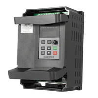 AT1 1500S Universal 1.5KW 12A 220V VFD Frequency Speed Controller AC Motor Drive Single to Three Phase Out Variable Inverter