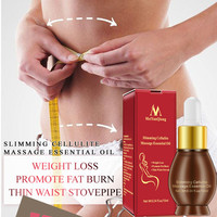 10ML Slimming Cellulite Massage Essential Oil Liquid Weight Loss Product Leg Body Waist Fat Burning Essential Oil For Women Men Essential Oil