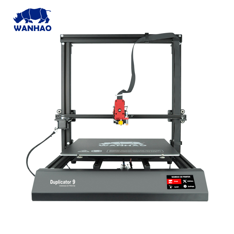 2018 Newest Wanhao FDM 3D Printer Duplicator 9 / 500 With Auto Leveling resume printing and bigger printing size цены