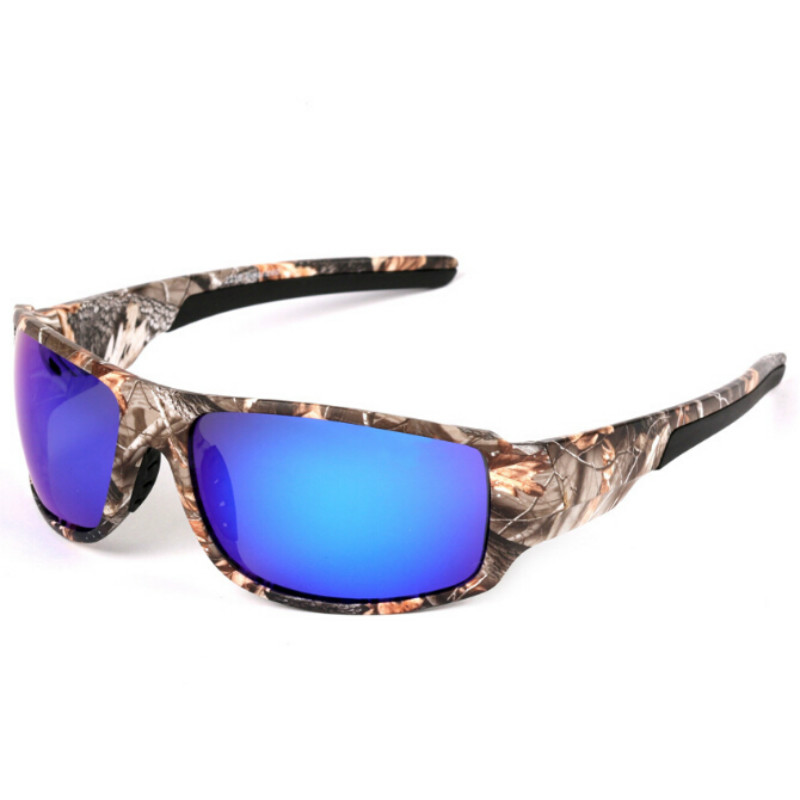 2017 Fishing Eyeswear Polarized Camouflage Frame Sport Sun Glasses Outdoor Driving Sunglasses Oculos De Sol Masculino Cool