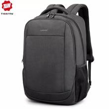 Tigernu мужской рюкзак для 15,6 дюймов зарядка через usb Водонепроницаемый Противоугонный ноутбук рюкзаки для мужчин большой рюкзак mochila hombre