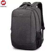 Tigernu erkek sırt çantası 15.6 inç USB şarj su geçirmez Anti Theft Laptop sırt çantaları erkek büyük sırt çantası mochila hombre