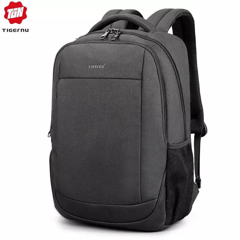 Tigernu sac à dos pour hommes pour 15.6 pouces USB charge étanche Anti-vol sacs à dos d'ordinateur portable pour homme grand sac à dos mochila hombre