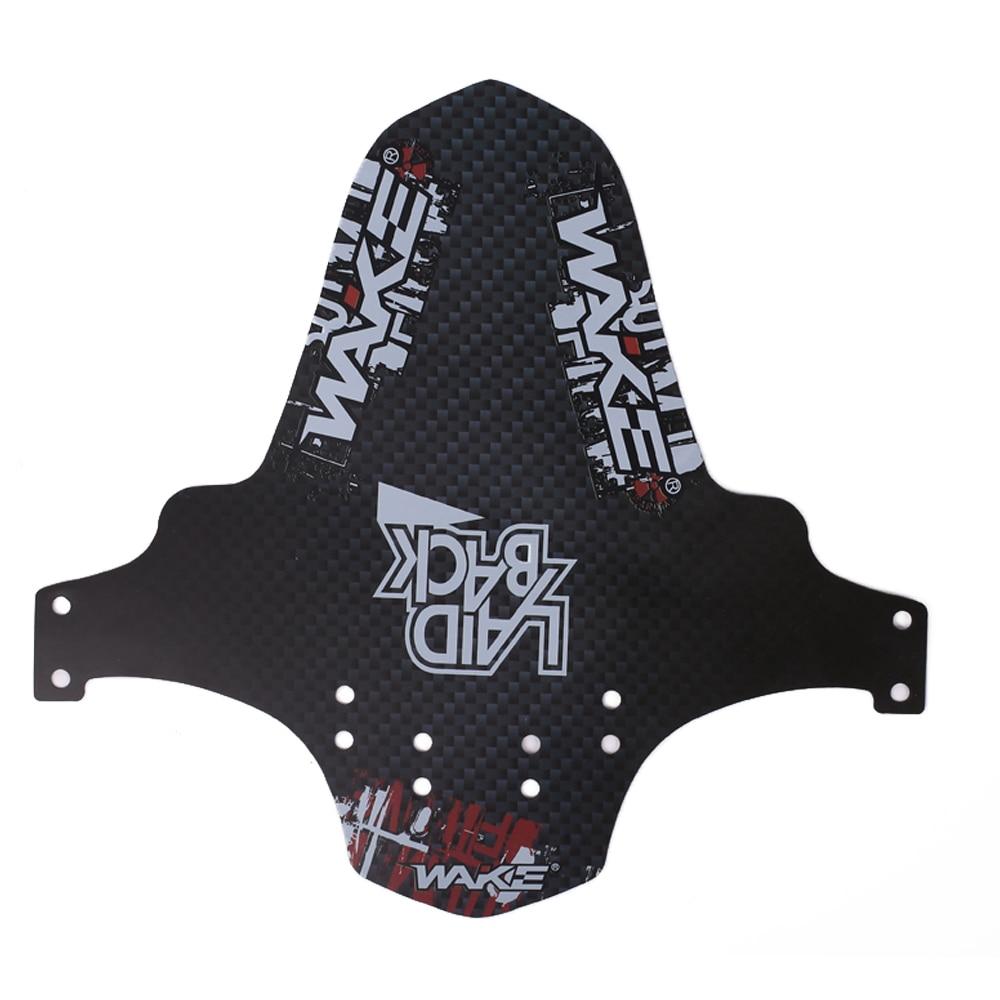 ABS резиновые пластины аксессуары для наружного инструмента брызговик велосипедные крылья для Велосипедное защитное крыло Блокировка велосипедные крылья езда - Цвет: F01