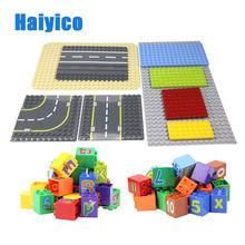Строительные блоки 64 512 с отверстиями рельсовая основа большие