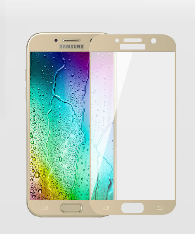 Mocolo 9H 0.33mm Full cover Tempered Glass For Samsung Galaxy A3 A5 A7 17 Screen Protector For Samsung Galaxy A3 A5 A7 cover 8
