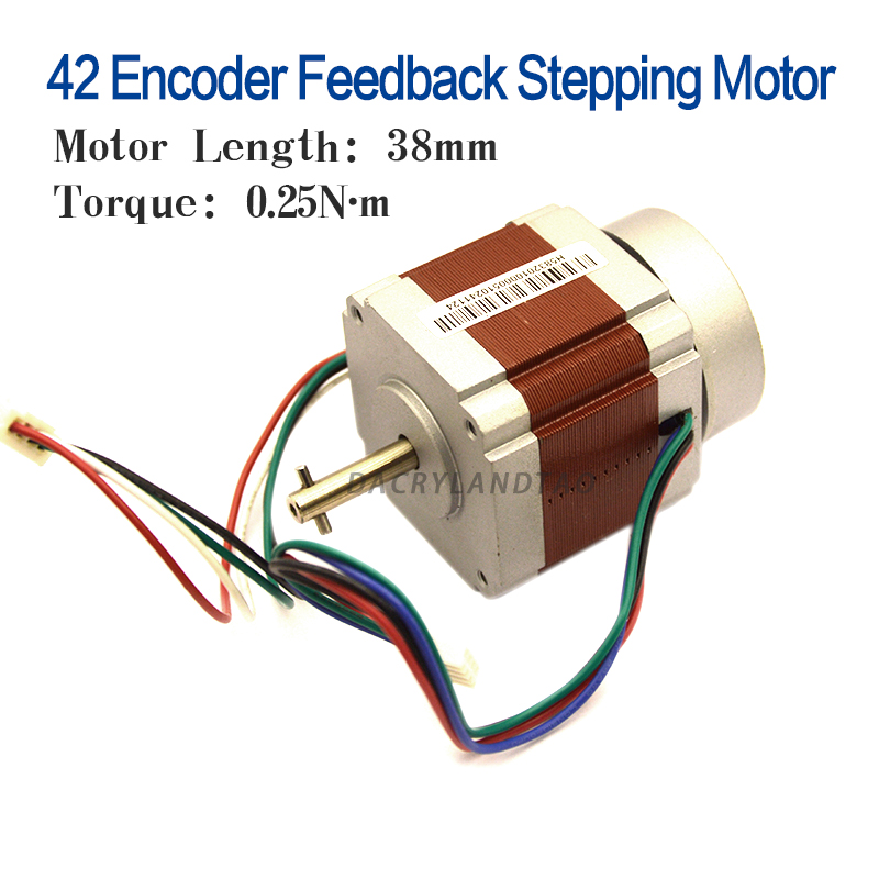 Nema17 Stepper MotorWith Encoder Feedback 42 Motor Nema 17 Motor 4-lead For 3D Printer