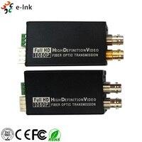Мини HD SDI волоконно оптический трансивер одиночный режим 10 км