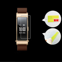 цены на For Huawei TalkBand Talk Band B3 Lite Wristband Full Screen Protector Cover Anti-shock Soft TPU Ultra Clear Protective Films-/  в интернет-магазинах