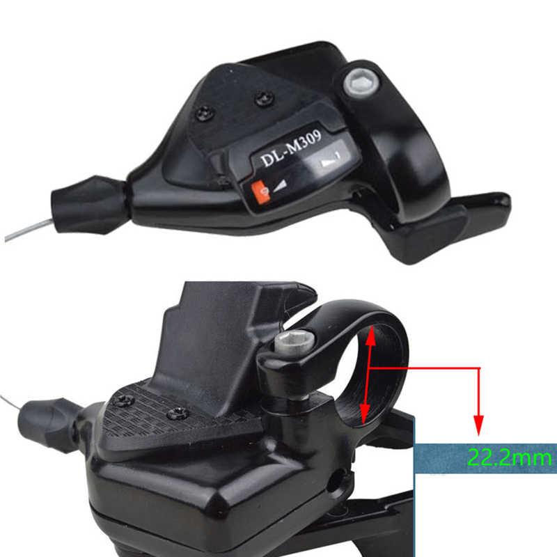 MTB тройной 3X7/8/9 Скорость велосипедной передачи рычаг переключатель независимого горный левый/правый переключения Совместимость для горный велосипед Shimano велосипед