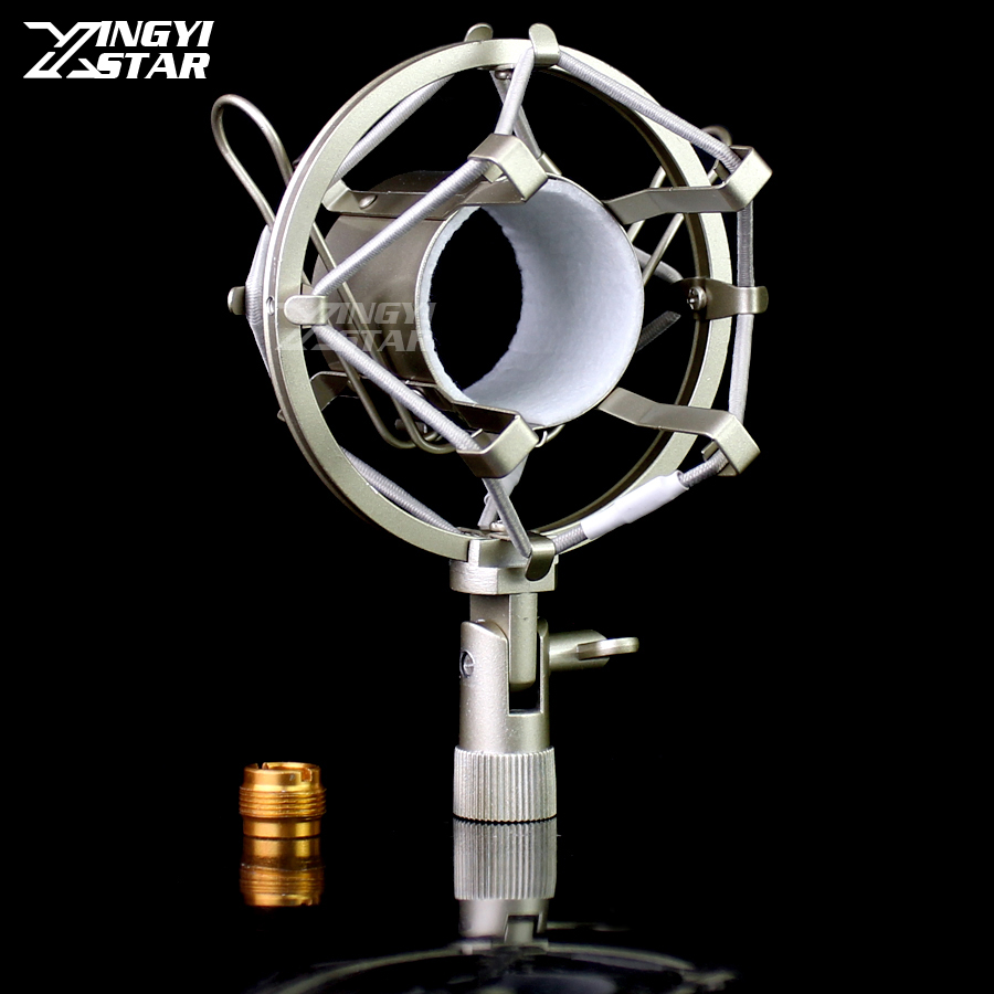 Metal Mic Holder Microphone Spider Shock Mount Stand Shockmount Suspension Bracket For CAD GXL2200 GXL2200BP GXL3000BP GXL3000