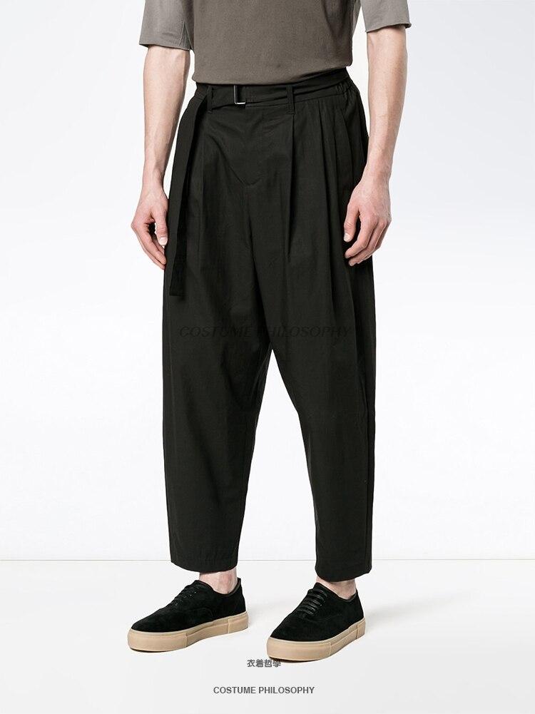 Del A1 Hombres ¡2018 Puro Pierna Trouserss Ajuste Yardas Masculino 27 Amplia Grandes Diseño Correa Original Color Casuales 44 Marea Pantalones 44wE1qH0