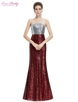 Prom dresses new arrival women strapless flare sequins long elegant sexy on line evening party he08372sb.jpg 200x200