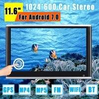 11,6 дюймов для Android 7,0 автомобильный монитор подголовник ips сенсорный экран HD 1080 P плеер видео wifi/USB/bluetooth/fm передатчик/динамик