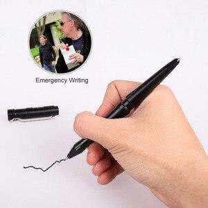 Image 4 - Tenvellon suprimentos de auto defesa caneta tático proteção segurança pessoal ferramenta defesa cinza cor preta canetas táticas segurança edc