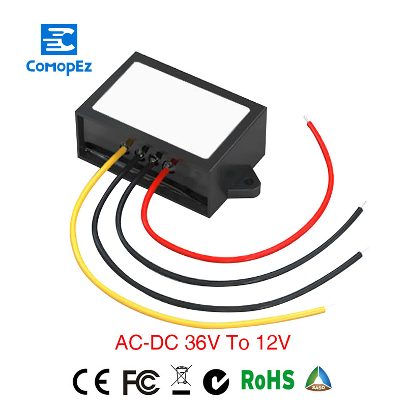 Limited Grid Tie Power Supply Converter AC/DC Step-down 36V To 12V Waterproof Control Car Module DC Converte Limited Grid Tie Power Supply Converter AC/DC Step-down 36V To 12V Waterproof Control Car Module DC Converte