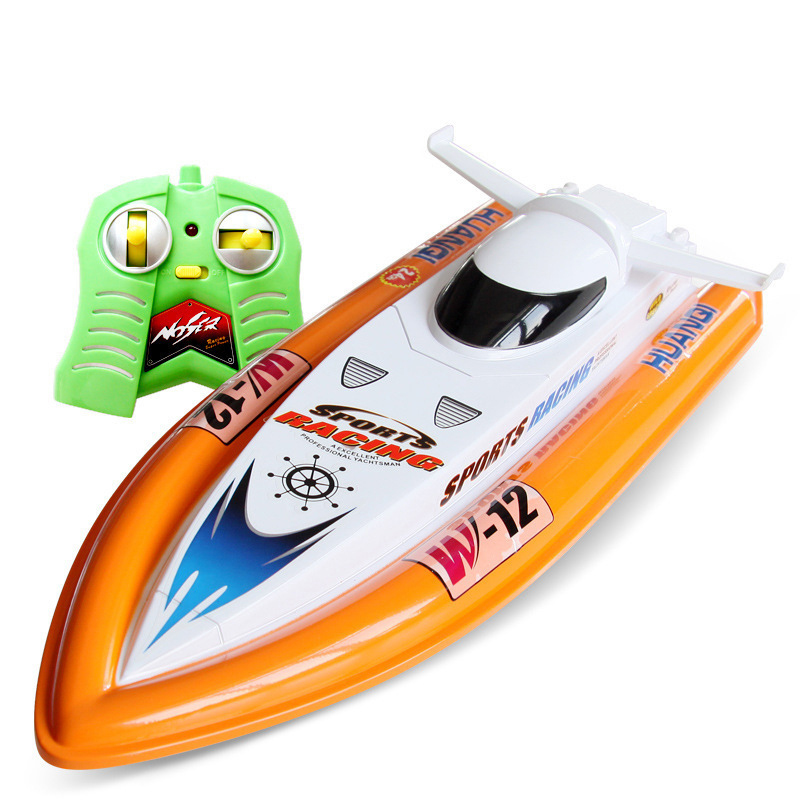 40cm RC Boat toys 15KM/H High Speed Fast Boat Brinquedos Water toys Scale model Speed boat Radio Remove Control Mosquito craft