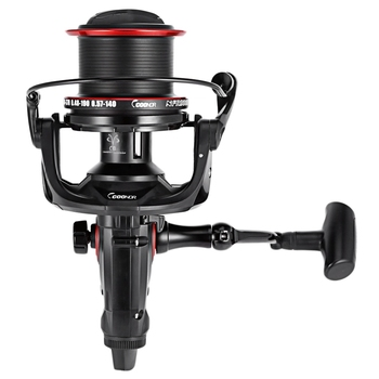 Coonor Nfr9000+8000 Double Spool Fishing Reel 12+1 Bb 4.6:1 Spinning Fishing Reel Folding Left/Right Handle Fishing Reel 7 1 1 high speed ratio spinning reel squid fishing reel metal body spool left right handle fishing spinning wheel 5 1bb