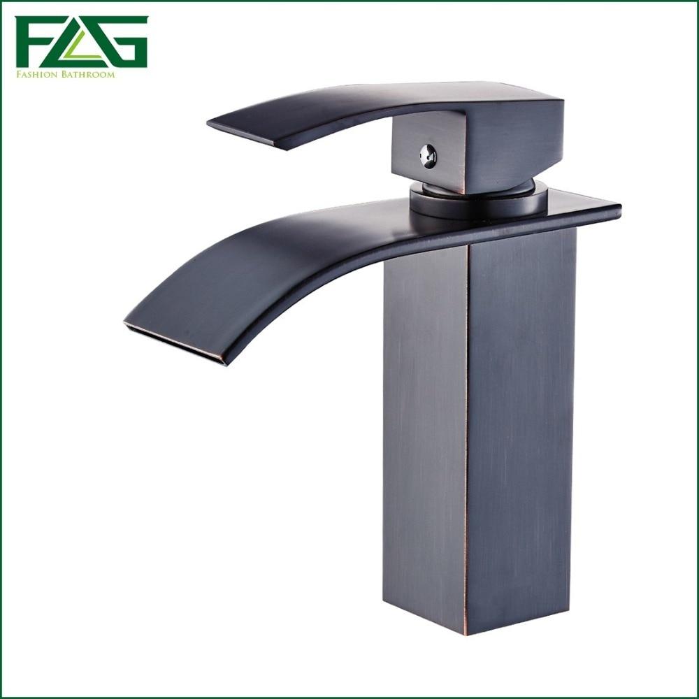 Oil Rubbed Bronze Orb Black Open Spout Bathroom Bath Bar Lavatory Vessel Sink