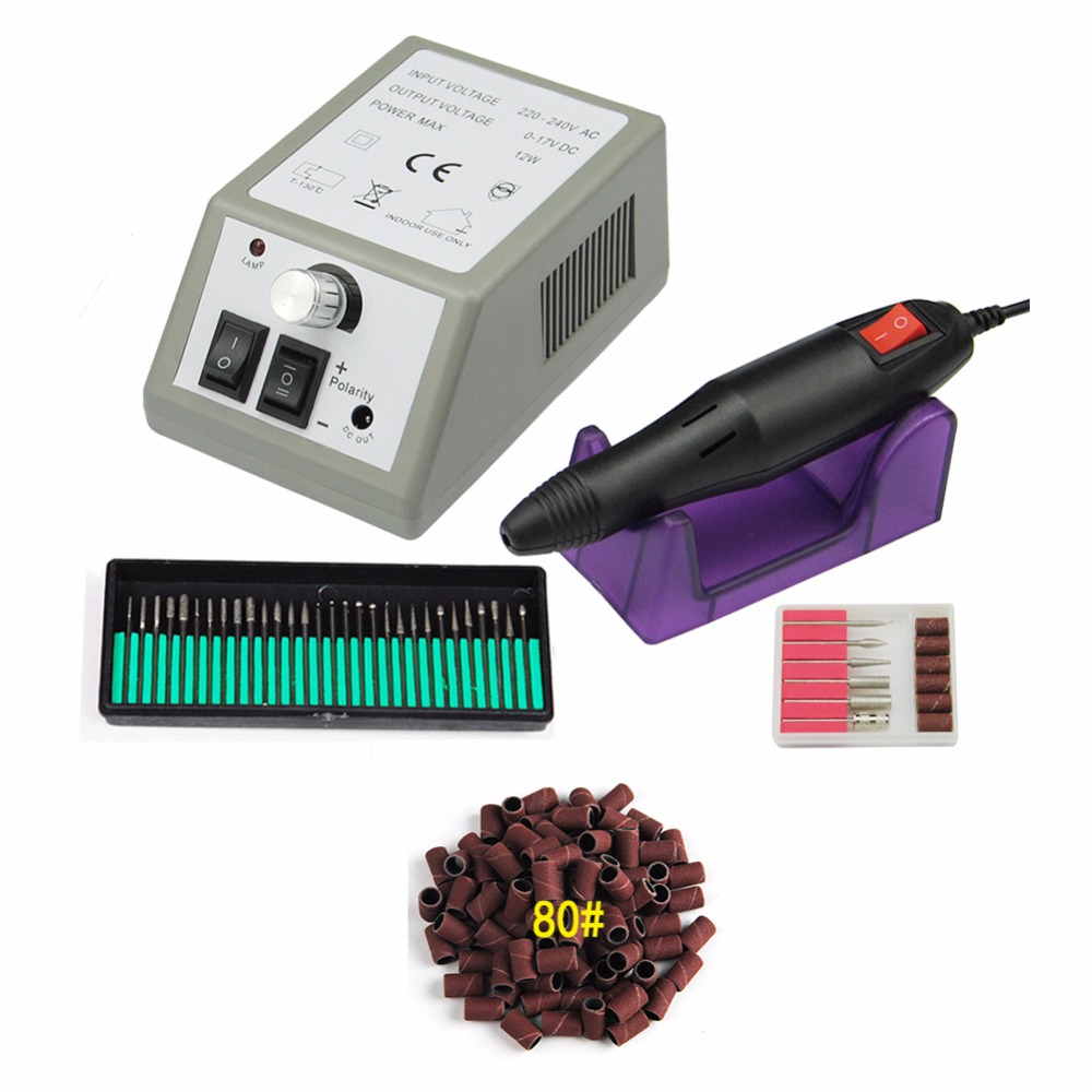 Cut Price 12W Electric Nail Machine Drill Equipment for Manicure ...