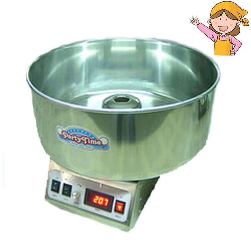1pc Popular Commercial Cotton Candy Floss Full Electric Candy Cotton Machine cotton candy machine cc 3803h popular commercial cotton candy floss full electric cotton machine