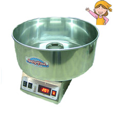 1pc Popular Commercial Cotton Candy Floss Full Electric Candy Cotton Machine