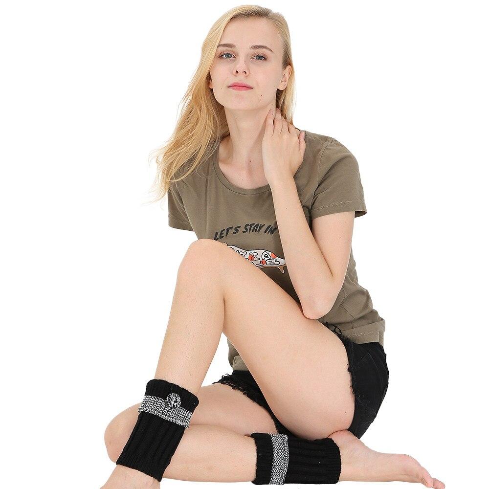 Women Winter Warm Knit Leg Warmers Crochet Leggings Slouch Boot Socks leg warmers women winter women cotton