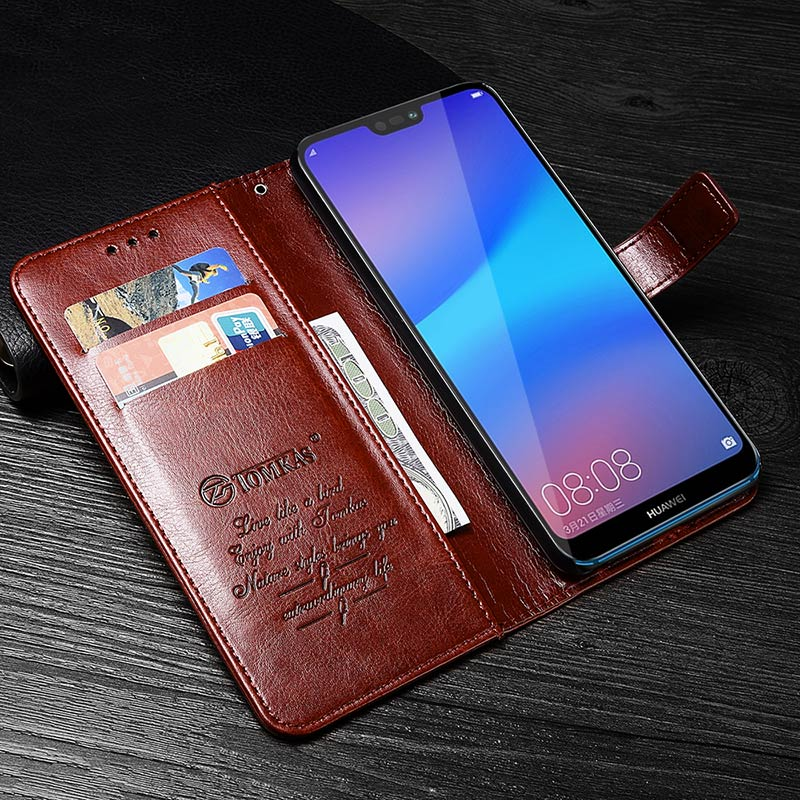TOMKAS Wallet Case For HUAWEI P20 Lite Flip Luxury Leather With Stand Phone Bag Case Cover For Huawei P20 Lite Cases P20 P20 Pro (23)
