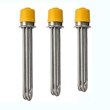 Tri-pince 2 «OD64 réchauffeur 3.0 kW/4.5kW/6kW SS304 élément de chauffe-eau électrique 260mm/280mm/300mm