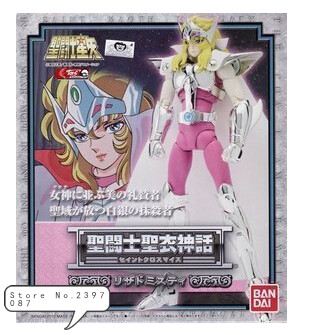 Bandai Saint Cloth Myth Lizard Misty Form Saint Seiya Action Fgure Super Hero free shipping hk saint cloth myth goddess athena form saint seiya action fgure casual suit luxury set