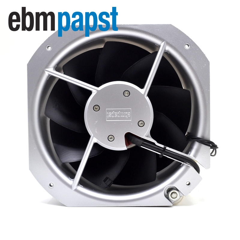 ebm papst   Original W2E200-HH38-07 22580 230V 80W enclosure cooling fan  225 * 225 * 80MM 230v 1a 50hz ebm papst r2e280 ae52 17 variable frequency fan cooling fan