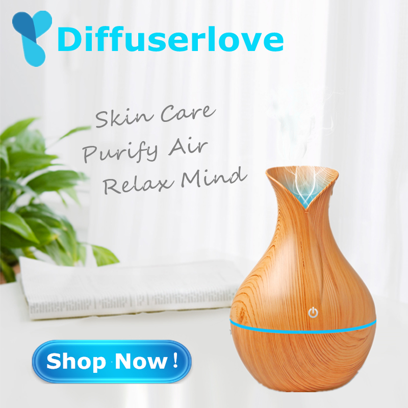 Diffuserlove 130ml Ultrasonic Air Humidifier USB Aroma Essential Oil Diffuser with 7 Color Change LED Night Light HouseholdDiffuserlove 130ml Ultrasonic Air Humidifier USB Aroma Essential Oil Diffuser with 7 Color Change LED Night Light Household