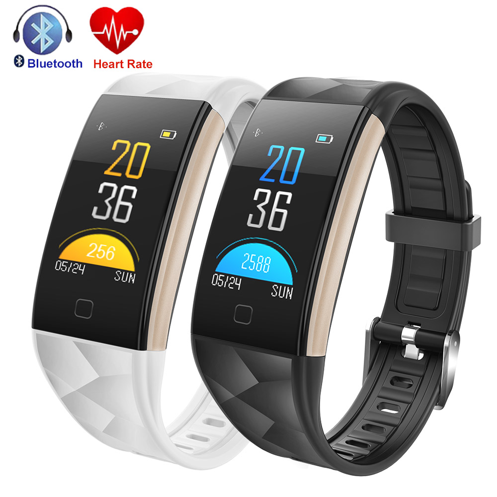 Color Screen Smart Bracelet Phone Reminder Swimming Heart Rate Blood Monitor Fitness Tracker Smart Band S2 Wristband Smartwatch