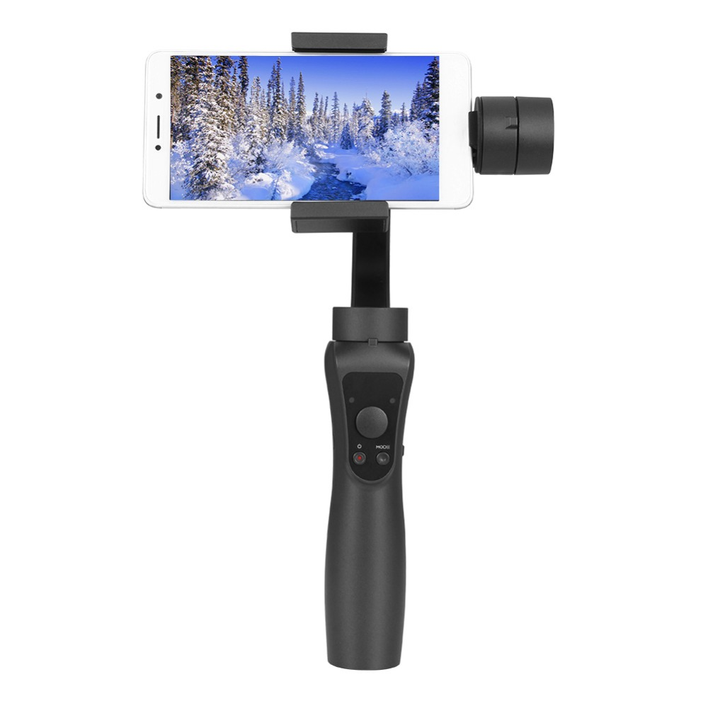 Handheld Gimbal 3-Axis Handheld Smartphone Gimbal Stabilizer Stabilizer For iPhone X 8Plus 8 7Plus 7 Bluetooth APP Selfie Stick wewow fancy smartphone 1 axis gimbal video stabilizer one axis steadicam mobile mount led light selfie stick in stock