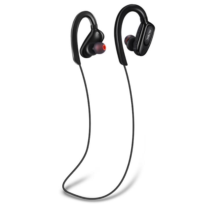 High quality Wireless Sports Bluetooth Earphone headphone Stereo Magnetic Waterproof Music Mic Control Headset for Android/IOS