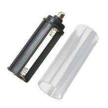 Nova 1 PCS 18650 Tubo Da Bateria + 1 PCS Suporte Da Bateria AAA para Lanterna Tocha