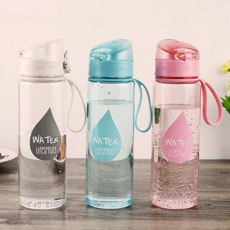 500ml or 280ml Water Bottle plastic Fruit infusion bottle Infuser Drink Outdoor Sports Juice lemon Portable Kettle|Water Bottles| |  - AliExpress