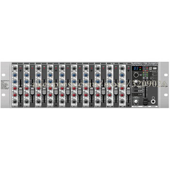 12 Channel Rack Mixer With Effect