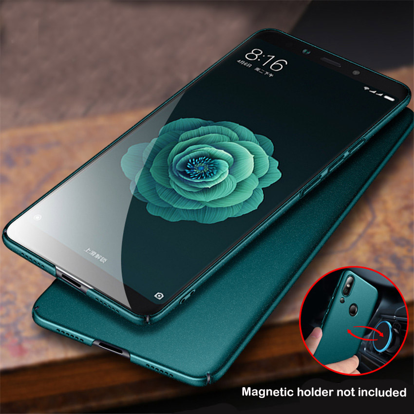 Xiaomi Mi 8 Fall Matte Ursprüngliche AIXUAN Xiomi Mi 8 metall Kunststoff Magnetic Autohalterung Abdeckung Für Xiaomi Mi 8 Mi8