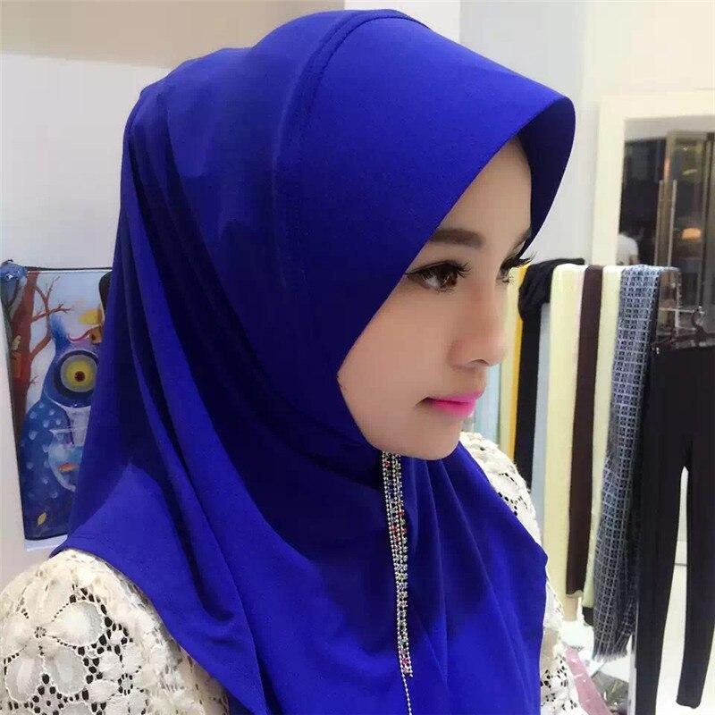 2017 Fashion Pure 14 Style Linen Scarf Turban Hijab Muslim