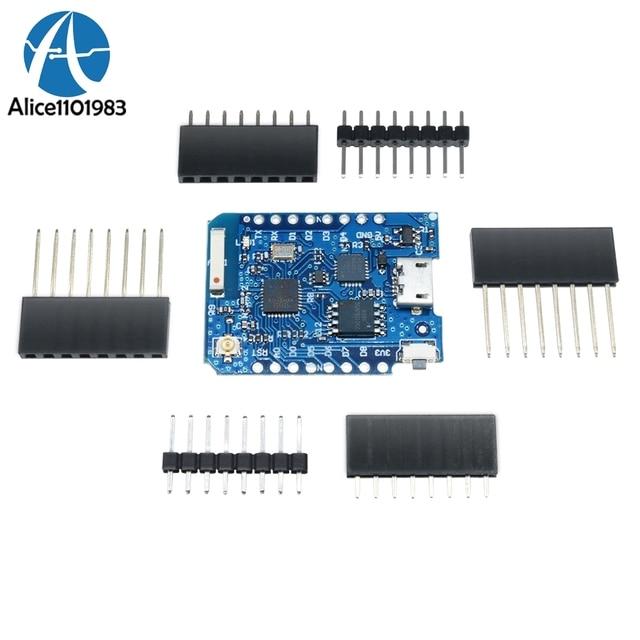 FOR WeMos D1 Mini ESP8266 WIFI Module Development Board Pro 16M Bytes External Antenna Contor ESP8266 WIFI IOT Development Board